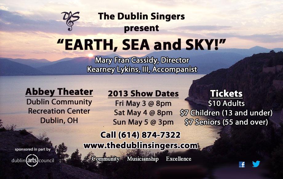 Dublin Singers spring show 2013